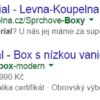 Screenshot Google reklam pro Wellmall