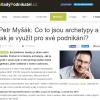 Petr Myšák v rozhovoru pro mladypodnikatel.cz