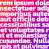 Text na webu